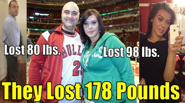 a couple who lost weight using nowloss.com