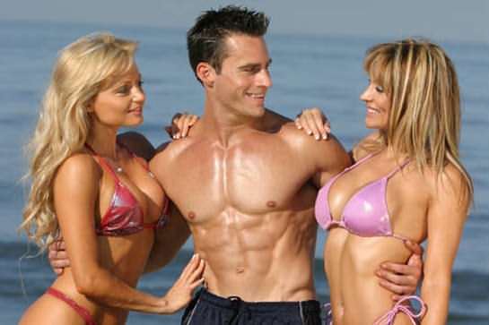 guy with 2 girls