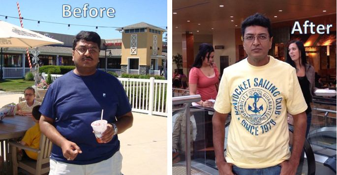 Sambasivam Lost 77 Pounds at Home