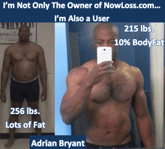 Adrian Bryant Before & After