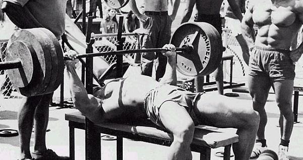 bench press compound exercise