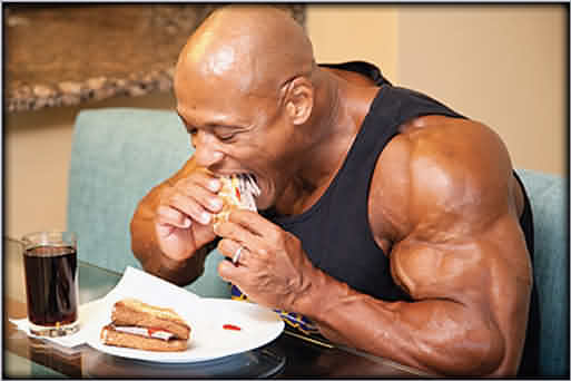 eat what you like to gain muscle