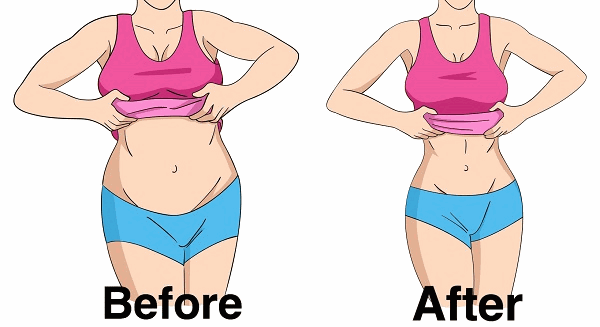 flatter stomach without exercise
