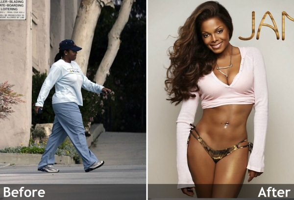 janet jackson lost 60 pounds