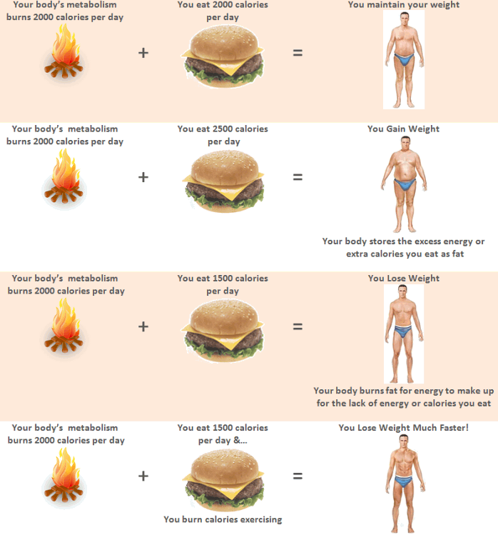 DO NOT Eat Back the Calories You Burn Exercising Because…