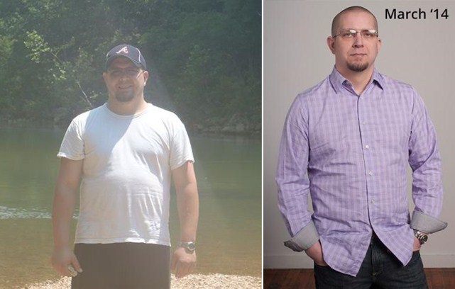 Paul lost 75 pounds