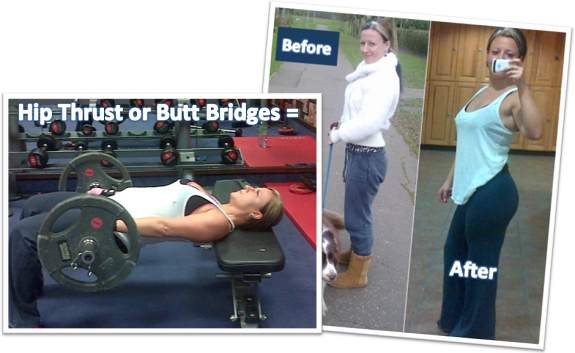 Butt Bridges or Hip Thrust