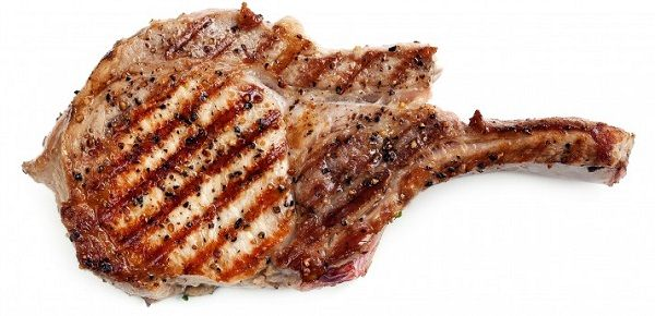pork chops fat loss