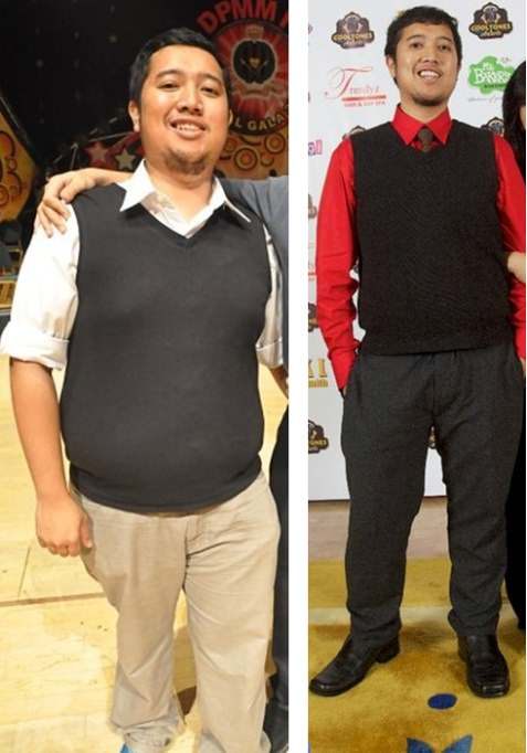 Celebrity weight loss before and after