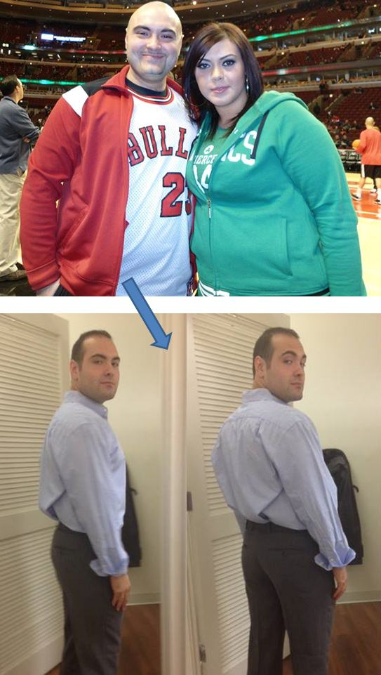 her husband lost 80 pounds